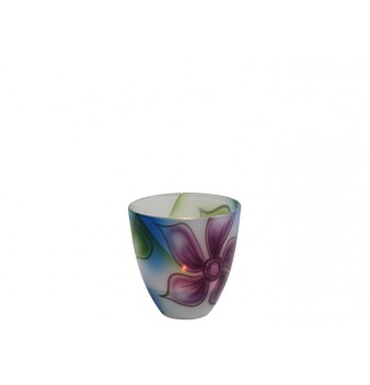 Contento lykta/skål lila 100 mm