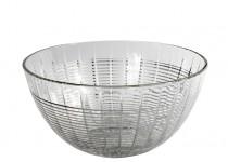 Facett skål silver 235 mm