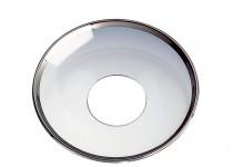 Ljusmanschett  silverkant, 65mm. 4st
