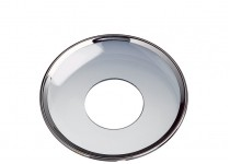 Ljusmanschett silverkant, 55mm. 4st