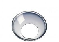 Ljusmanschett silverkant,  45mm. 4st