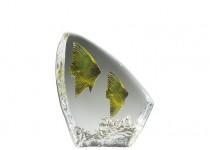Glasrelief Månfiskar 120 mm