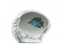 Glasrelief Fjärilsfisk 90 mm